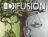 Ilustración propuesta para revista Difusión