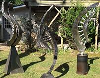 Flipside 2013' Metal Sculpture