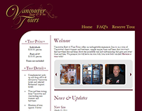 Vancouver Brew & Wine Tours Website Design