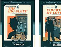 Raymond Chandler Covers