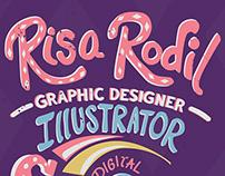 Risa Rodil – Heroes Poster