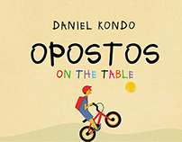 "Livro ""Opostos on the table"""