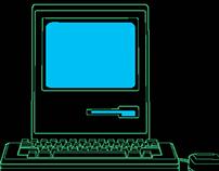 Infographic timeline-Macintosh