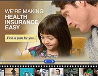 Blue Cross Blue Shield- Rich Media/Video Ad