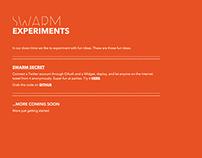 SWARM EXPERIMENTS