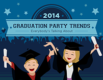 Graduation Party Infographic