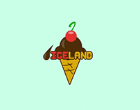 ICELAND logotyp