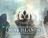 Mist Islands • Desktopography 2014 •