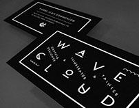 Carte de visite - Wave Cloud.