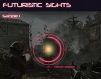 Futuristic Sci-fi sights for games