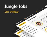 Jungle Jobs User Interface