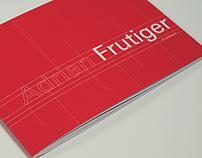 Adrian Frutiger - 6 Typefaces