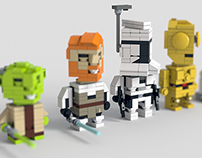 Lego renders