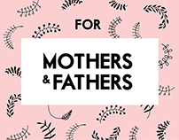For mothers and fathers