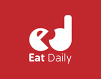 Eat Daily Logo and App UX part 1 (Sketching &Wireframe)