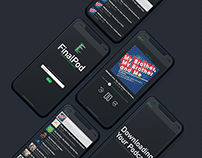 FinalPod: A Podcast App