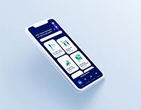 Design Reflexion: Screendesign Company Management App