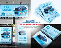 Car Wash Advertising Bundle