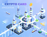 Crypto card Application