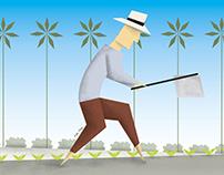 Agro en Piura ilustrado