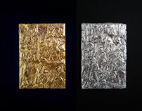 Love series / Gold leaf work 01, 02