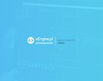 Logo identity - eEngine Software House