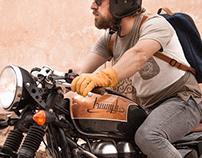 Lettering para moto Custom Tamarit Dalua