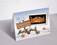 Custom designed holiday greeting cards