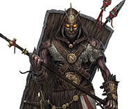 Pathinder characters for Tombs of Galorian
