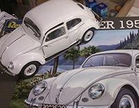 1/16 Revell Volkswagen 1951-52 Model