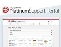Platinum Support Portal @Trend micro