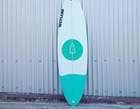 Surfboard design for WETSAND