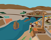animation for Hasankeyf - the ancient town