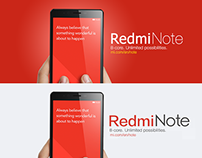 Redmi Note Teaser Facebook Cover