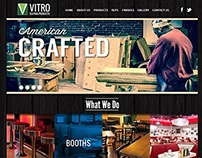 Vitro Seating Products Web Design