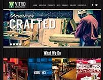 Vitro Seating Products Web Design