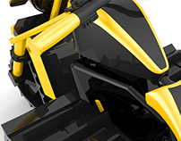 ROADSTRIKE: 4x4 Electric motorcycle concept