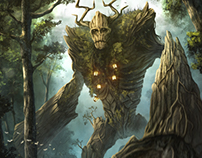 Ancient forest elemental