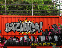 Bazinga Jakarta Street Food