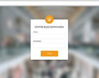 Centre Buzz Social Media Admin Software