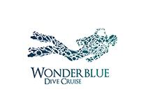 Wonderblue Dive Cruise Brand Design
