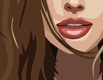 Angelina Jolie Illustration