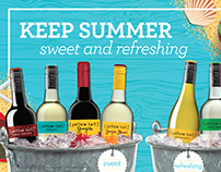 Yellow Tail Keep Summer Sweet and Refreshing Ad