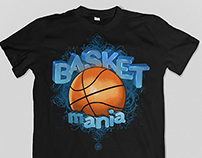 Basketmania tshirt