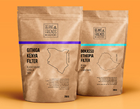 Coffee beans packaging concept