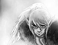 Cutter from ElfQuest Comics