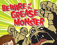 San Antonio Water System Grease Monster Campaign
