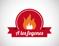 A los fogones - Cooking icon set