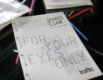 james clar : exhibition catalog