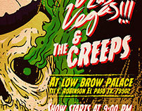 VLV!!! & THE CREEPS. El Paso, tx.
